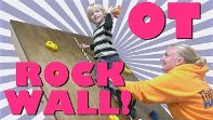 occupational therapy rock climbing wall